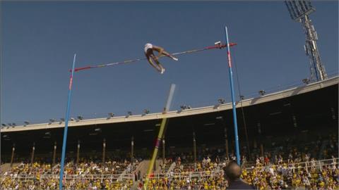 田徑鑽石聯賽撐竿跳 世界紀錄保持人再創大會紀錄