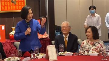 一生為台灣民主!黃崑虎90大壽宴席蔡總統親出席感謝無私奉獻