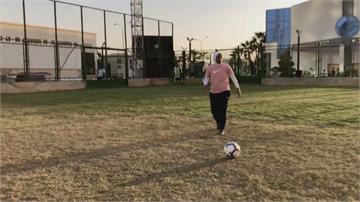 突破傳統跨越性別 埃及女教練執教男足隊