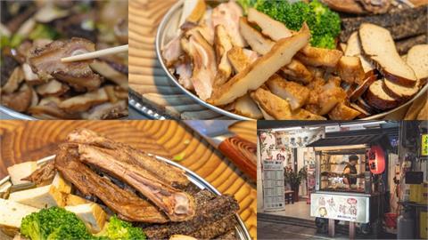 美食/新莊美食 滷味阿伯|夏天開胃選擇!隱藏新莊夜市人氣「冷滷味」