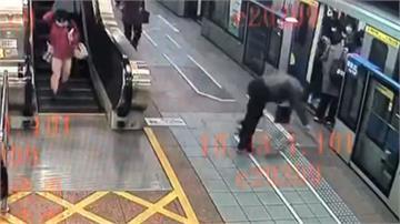 北捷乘客命危「2天使男」CPR搶救成功 不顧習慣性脫臼 熱心男:緊要關頭就應相助