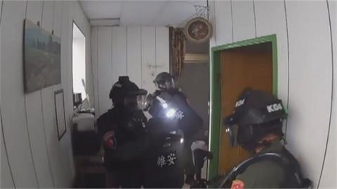 黑道暴力零容忍! 中市警強力掃蕩逮捕多人