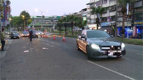 北市婦人過馬路遭撞 無生跡送醫搶救