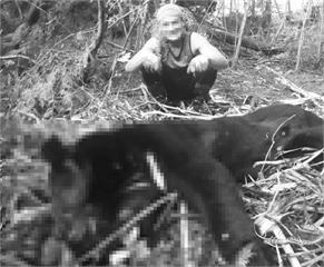 快新聞/太可惡! 無良山老鼠盜伐紅檜樹瘤 還抓台灣黑熊來吃