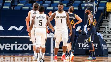 NBA/體能怪物威廉森攻26分!  鵜鶘擊敗戰績第一爵士