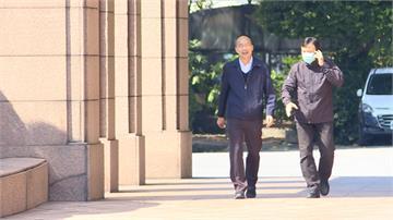 韓國瑜現身行政院爭取防疫物資 蘇揆打臉:上周給過了
