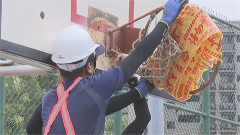 避免群聚! 桃園拆除358座籃框 新竹封閉室內場館