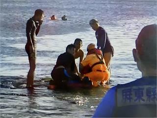 快新聞/墾丁香蕉灣驚傳溺水意外 49歲男子被救起時無呼吸心跳