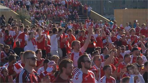 歐國盃爆群聚感染 丹麥主場匡列4千球迷