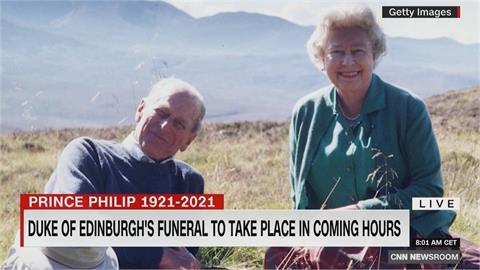 女王送別摯愛!菲利普親王葬禮 威廉、哈利送行