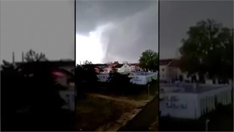 風速超過300km!超強龍捲風橫掃捷克 釀5死150傷