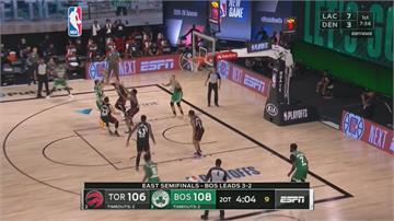 NBA/暴龍險勝塞爾提克!125:122逼入第七戰