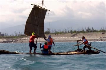 阿美族、索羅門攜手打造 仿古帆船成功揚帆