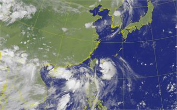 輕颱哈格比持續增強!周一最接近台灣 7縣市防大雨