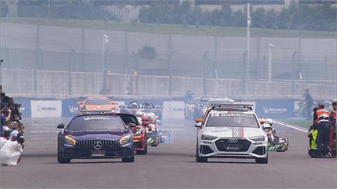 國際賽車場開幕 賽道250輛汽機車雲集