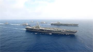全球/法國戴高樂號加入演訓!印太區航母大亂鬥