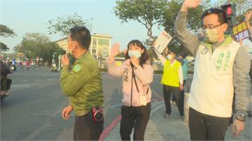 黃捷出招反制「罷捷」 喊話終結報復性罷免 許智傑力挺 籲民眾2月6日投下不同意票