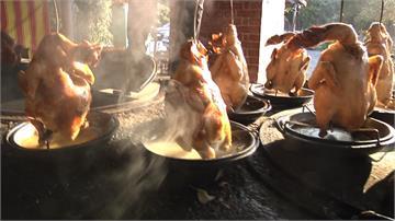 苗栗特色菜!高溫柴燒磚窯雞、中藥黑皮臭豆腐