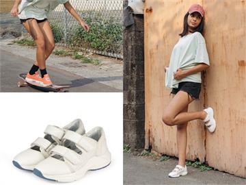 夏日上山下海一雙搞定!bussola休閒運動鞋防水透氣 時尚一把罩