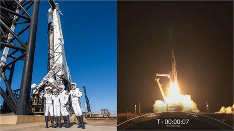 首趟送平民上太空!SpaceX創航太歷史新頁 老兵超興奮:像露營車之旅