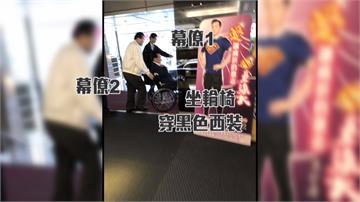獨/連戰坐輪椅就醫 郭素春:游泳肌肉拉傷