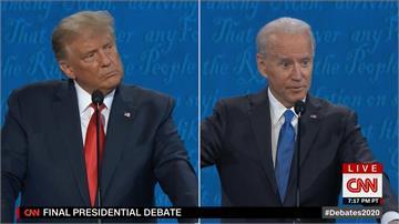 最終辯論川普收斂 拜登猛攻「搖頭.嘆氣樣樣來」