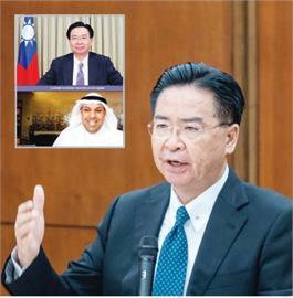 快新聞/吳釗燮接受科威特智庫專訪 闡述台灣外交政策、中國安全威脅