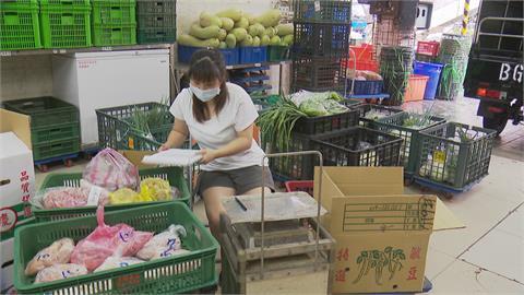 500萬月收銳減8成 賣菜郎客製化宅配蔬菜求生 通訊軟體群組訂購蔬菜 短短3天成員將近500人