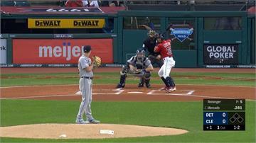 MLB/8長打15連勝老虎 印地安人外卡落後僅半場
