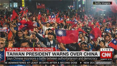 共機頻擾台 蔡英文國慶前撰文談中國挑釁 引外媒關注