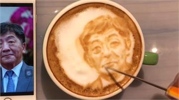 防疫蹦出新創意!陳時中竟變咖啡拉花