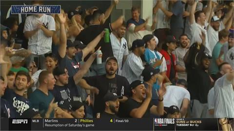 洋基主場大勝世仇紅襪 對戰7連敗後2連勝
