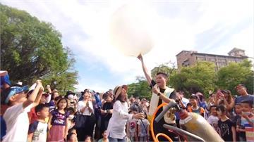 日環食讓溫度下降?成功大學施放探空氣球實測