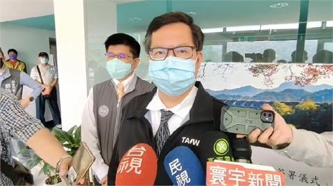 快新聞/六都首長第一位施打AZ疫苗! 鄭文燦:體溫正常狀況良好