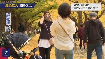 日本全國單日確診連破新高 三連休如何兼顧防疫成課題