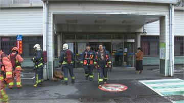 台北醫院手術室驚傳火警 緊急疏散45人幸無傷亡