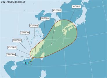 「盧碧」颱風進入台灣北部海面恐「消失再復活」 林嘉愷揭致災雨彈時程