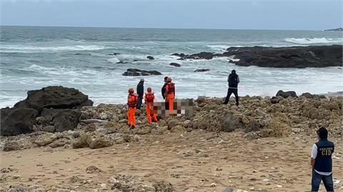 男登九鵬山抓溪蝦失聯 風吹沙海邊尋獲遺體