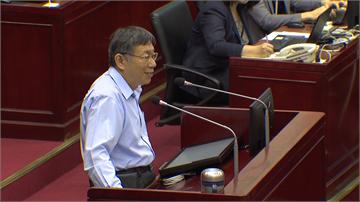 被爆2024選總統 柯文哲急否認:沒跟郭董談過