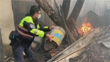 新竹新豐凌晨惡火吞平房來不及逃!26歲女子救出送醫不治