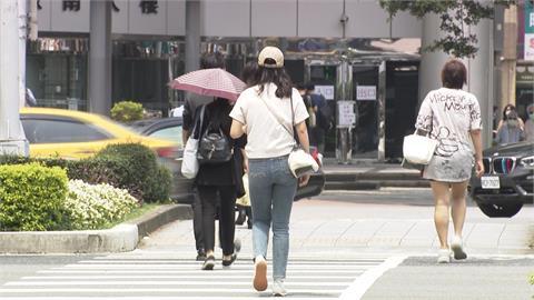 快新聞/炎熱夏季來報到!中南部水氣減少 北部、東部高溫飆36度