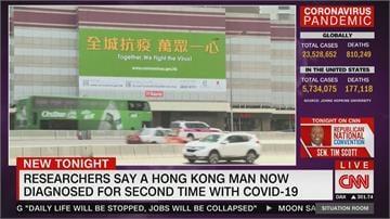 香港現首例武肺二次感染 世衛:還需再研究
