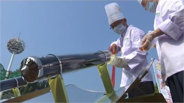 用陽光煮菜 中國德州市辦太陽能美食秀