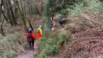 5人登山隊上山 1男失足墜60公尺溪底身亡