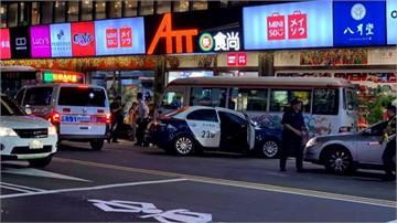 巡邏警開車頭暈 橫跨雙黃線撞上公車