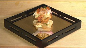 午仔魚.黑鮪魚雙品壽司 兩種海鮮鮮味相乘