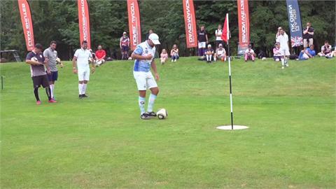 足球+高爾夫玩創意 英格蘭公開賽拚奧運正式項目
