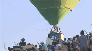 離開地球表面!林智堅、 饒慶鈴共搭熱氣球 為2020台灣設計展尋靈感