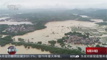 中國南方豪雨肆虐 千屋倒2百多萬人受災