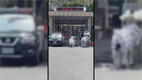 快新聞/蜈蚣陣+送葬車「歡送」竹東分局長 鬧事主嫌遭羈押禁見